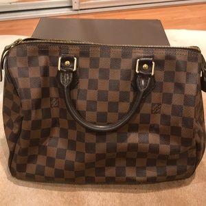 Handbags - Louis Vuitton Speedy 30 Damier Ebene